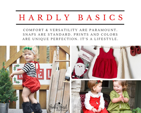 The Baby Bird Boutique Holiday Bloomers