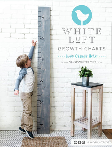 White Loft Holiday Ad  - Growth Chart