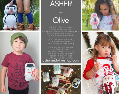 Asher + Olive Pillow Dolls