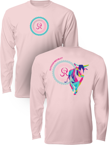 Cubed Bull - Women's UPF Performance Shirt