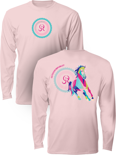 Cubed Horse - Women's UPF Performance Shirt