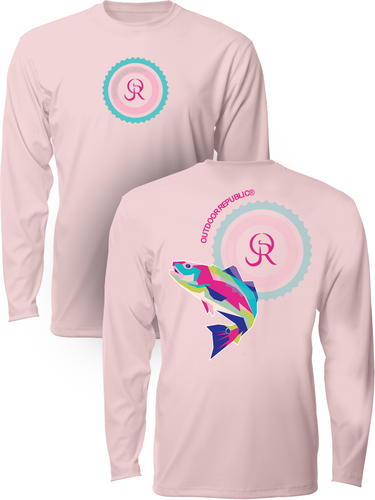 Cubed Redfish - Women's UPF Performance Shirt