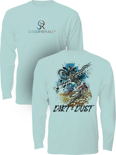 Dirt and Dust Youth Performance Shirt