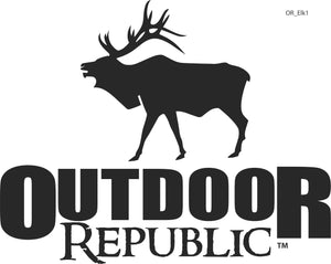 OR Elk Decal