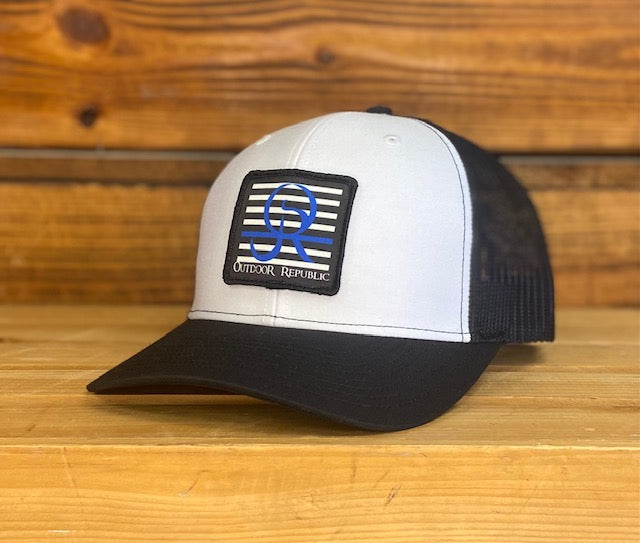 Blue Line Patch Snapback Headwear (First Responder Edition)