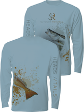 Heads/Tails Wrap - UPF Performance Shirt