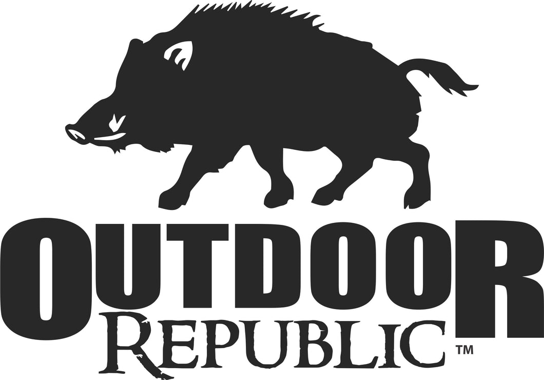OR Wild Hog Decal