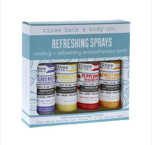 Refreshing Sprays Package (4 Bottles) Included