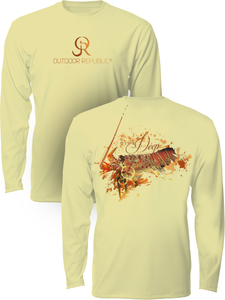 Lobster Dive - UPF Performance Shirt