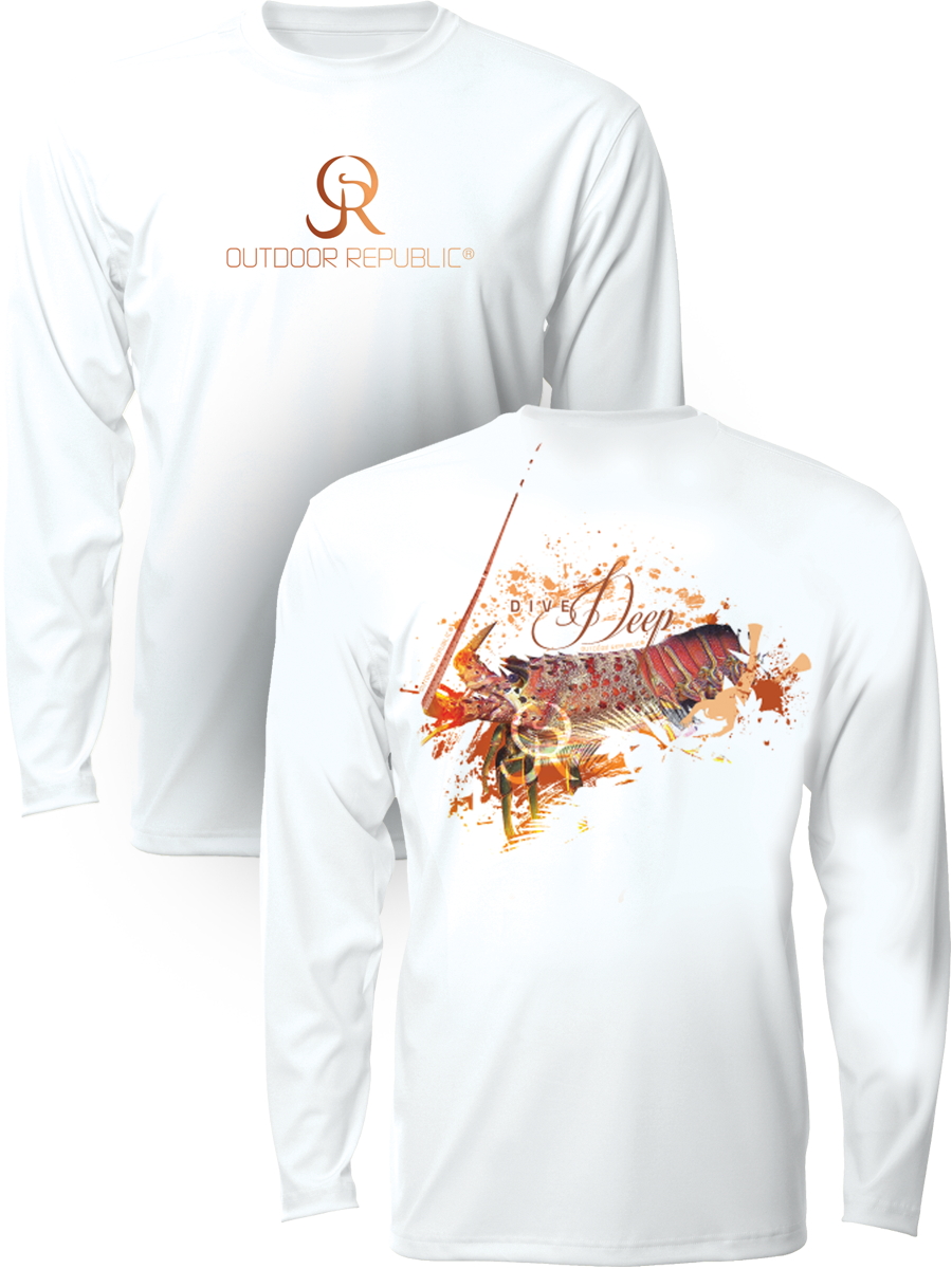 Lobster Dive - UPF Performance Shirt (unisex)