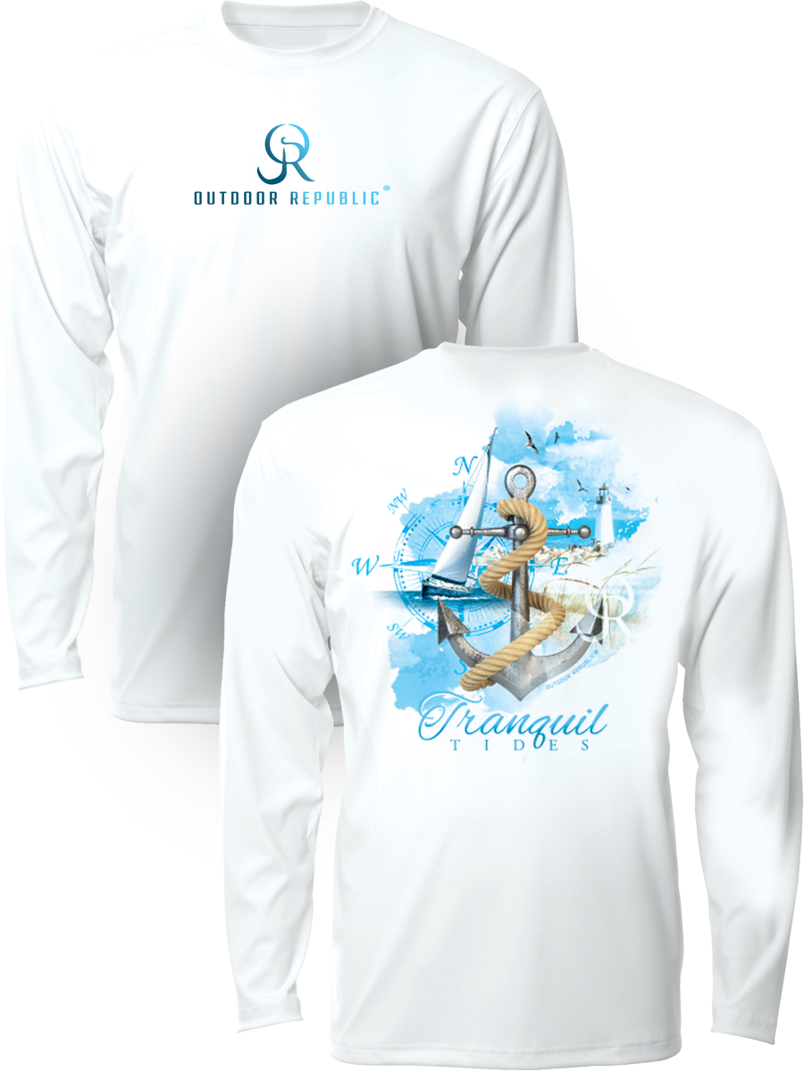 Tranquil Tides - UPF Performance Shirt