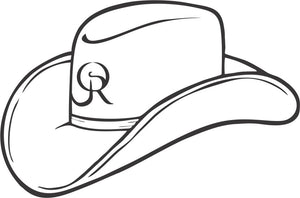OR Cowboy Hat Decal