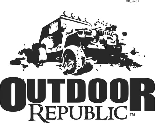 OR Jeep Decal