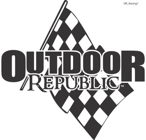 Racing Flag Decal