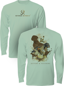 Setters & Feathers - UPF Performance Shirt