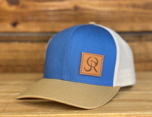 OR Side Leather Patch Snapback