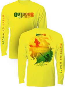 Water or Woods - UPF Performance Shirt