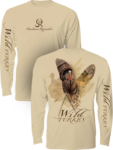Wild Turkey - UPF Performance Shirt