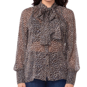 Bow Beast Leopard Top