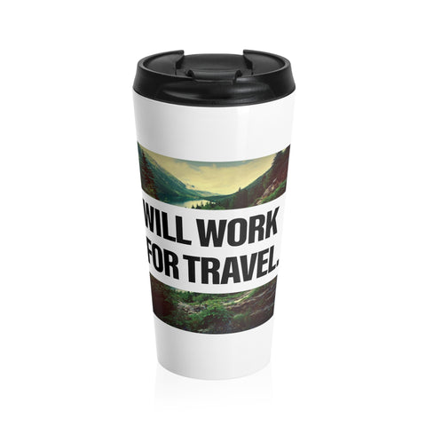 Work For Travel Stainless Steel Mug
