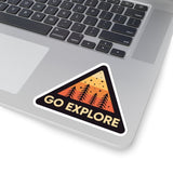 Go Explore // Sticker