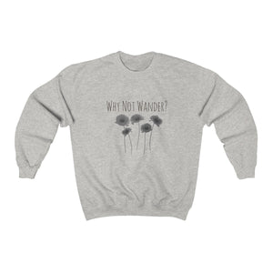 Why Not Wander // Sweatshirt