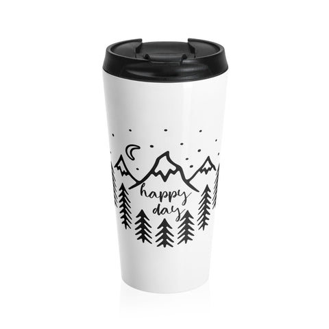 Happy Day Stainless Steel Mug