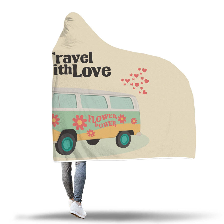 Travel With Love // Hooded Blanket