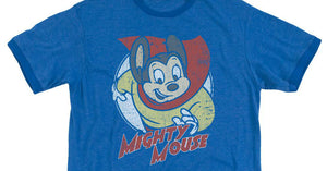 TV and SuperHero Mighty Mouse T-shirt