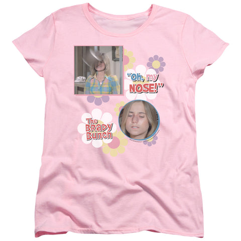 Brady Bunch - Oh, My Nose! Short Sleeve Women's Tee