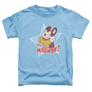 Mighty Mouse - You're Mighty Short Sleeve Toddler Tee