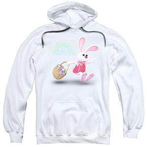 Here Comes Peter Cottontail - Hop Around Adult Pull Over Hoodie