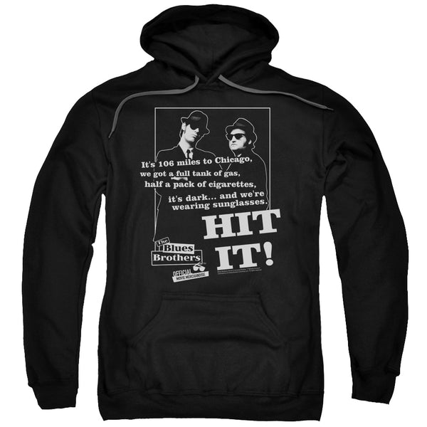 Blues Brothers - Hit It Adult Pull Over Hoodie