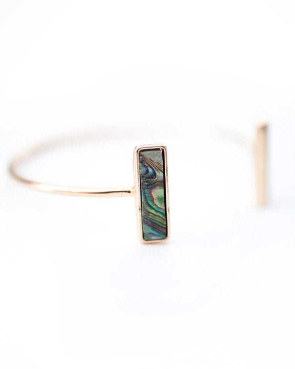 Genuine Abalone Shell Bracelet