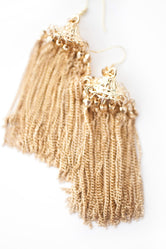 The Carousel - Tassel Earrings