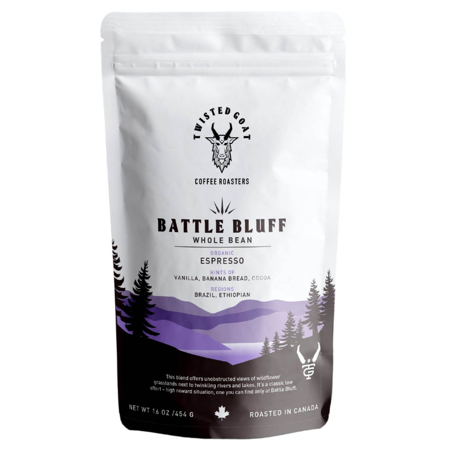 BATTLE BLUFF - ESPRESSO COFFEE BEANS