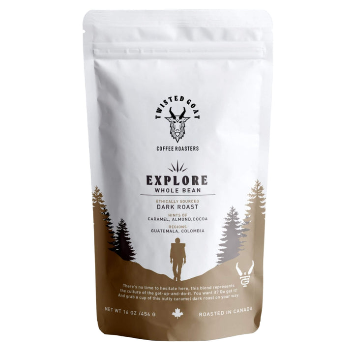 #EXPLORE - DARK ROAST COFFEE BEANS