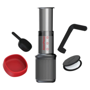 Aeropress GO Coffee Press Kit Shown On A White Background