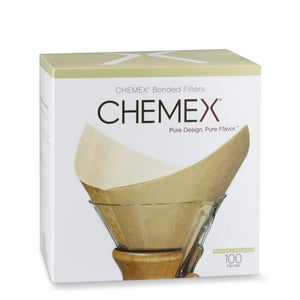 Chemex Coffee Filter Box Of Bleached Filters 100 Count
