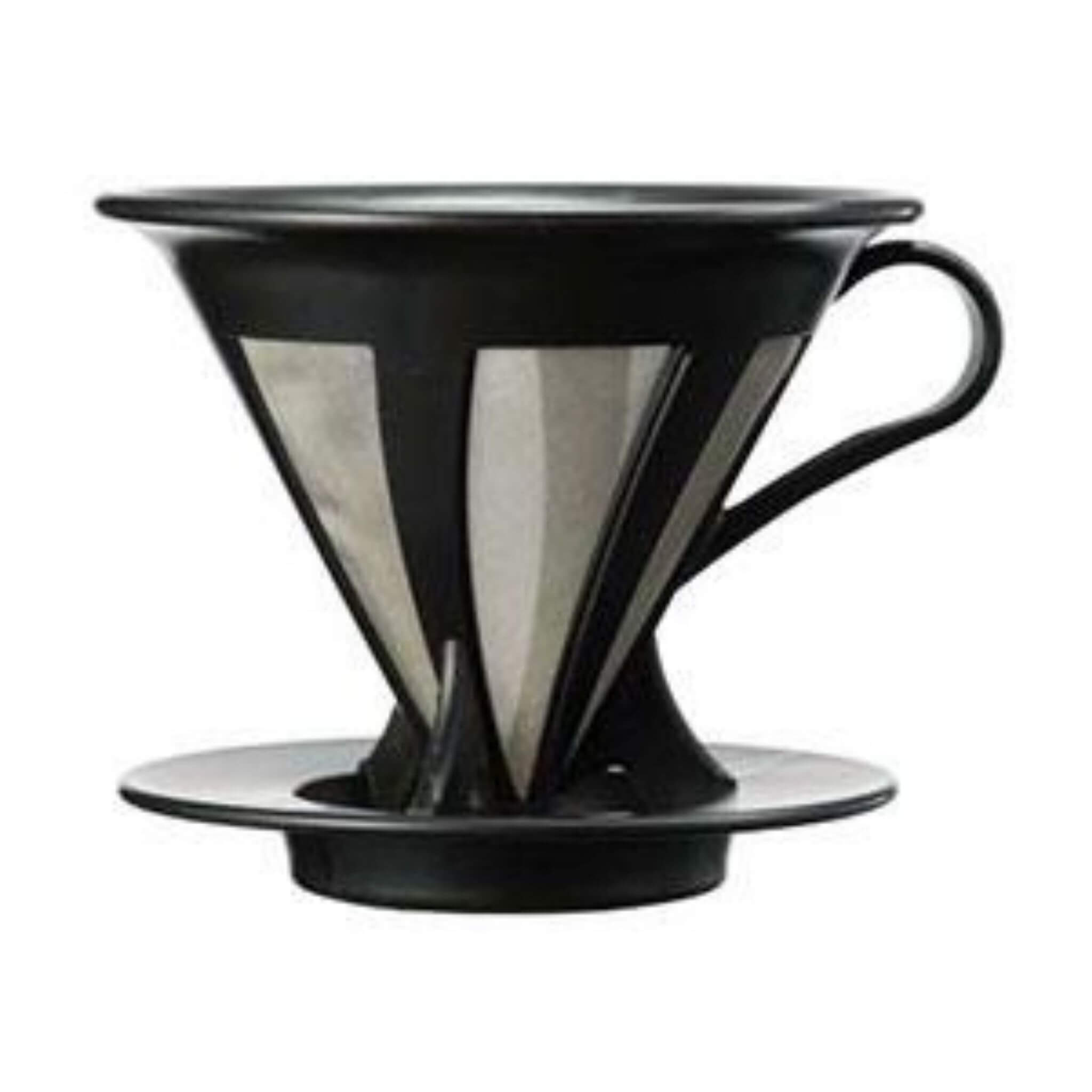 Front VIew Of Hario Mesh Pour Over Coffee Maker
