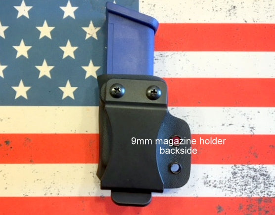 Custom Kydex Single Magazine Holder for pistols