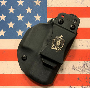Custom Kydex Holster for the Glock IWB (42, 43, 43x and 48) (solid colors)