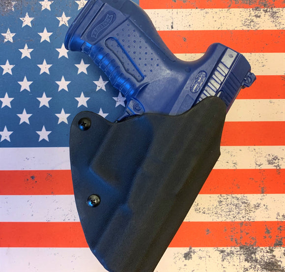 Custom Kydex OWB Holster for the Glock 42, 43, 43x and 48(solid colors)