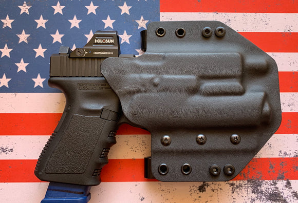 TRIPLE THREAT - Custom Kydex Holsters for the 1911