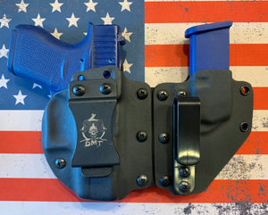 MODULAR Custom Kydex Holster for the Glock 42, 43, 43x and 48 (Camo and Carbon Fiber)