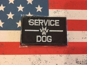 Service dog tactical patch