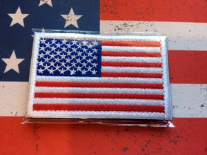 Tactical Patch - US Flag red white and Blue