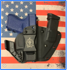 FUSION Custom Kydex Holster for the Glock 42, 43, 43x and 48 (Camo and Carbon Fiber)