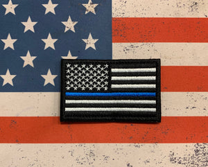 Tactical Patch - US Flag Police