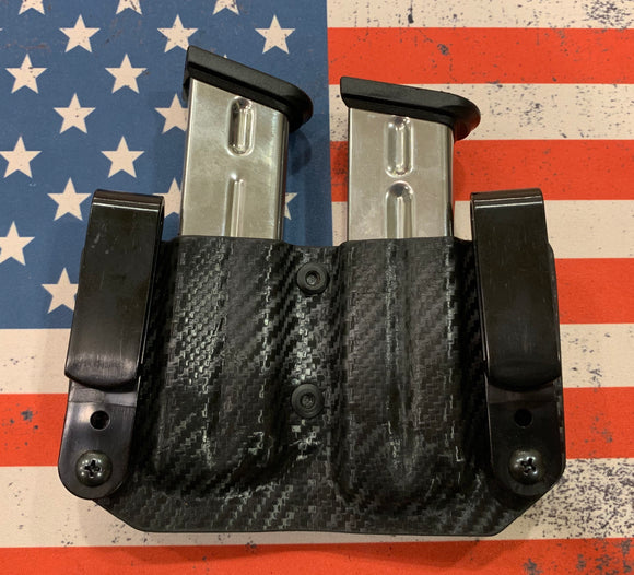 Custom Kydex Double Magazine Holder for pistols